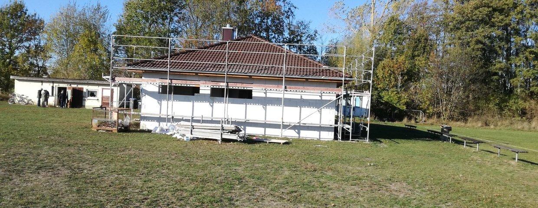 Baugeschehen Sportplatz